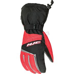 HJC Black/Red Storm Gloves - 1424-014