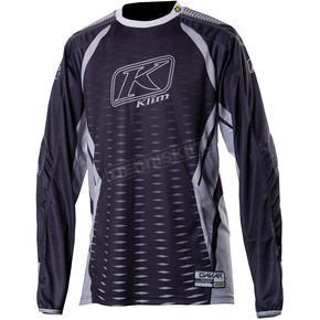 Klim Black/Gray Dakar Jersey (Non-Current) - 3315-004-140-000