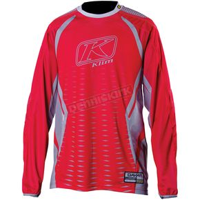 Klim Red/Gray Dakar Jersey (Non-Current) - 3315-004-140-100