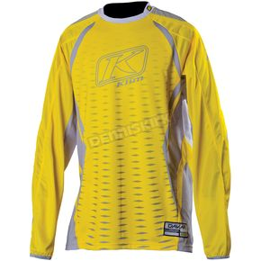 Klim Yellow/Gray Dakar Jersey - 3315-004-140-500
