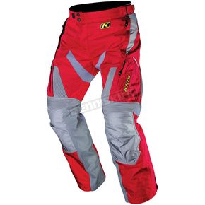 Klim Red/Grey Dakar Pants - 3142-002-030-100