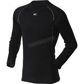 MSR Racing Black Base Layer Long Sleeve Shirt - 331206