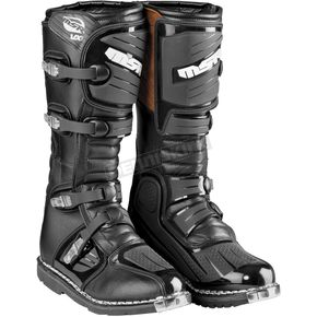 MSR Racing Black VX-1 Boots - 339091