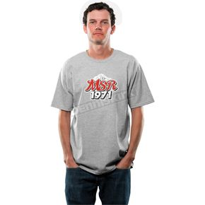 MSR Racing Heather Gray Lager T-Shirt - 344020