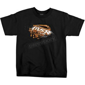 MSR Racing Youth Black Blown Out T-Shirt - 344031