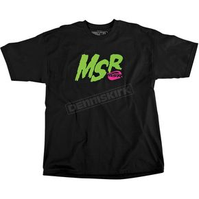 MSR Racing Youth Black/Green Gray Icon T-Shirt - 344037
