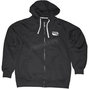 MSR Racing Black/White Stealth Zip Hoody - 347899