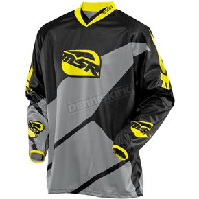 MSR Racing Black/Gray/Yellow Renegade Jersey - 351627