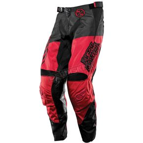 MSR Racing Youth Black/Red Optic Metal Mulisha Pants - 351640