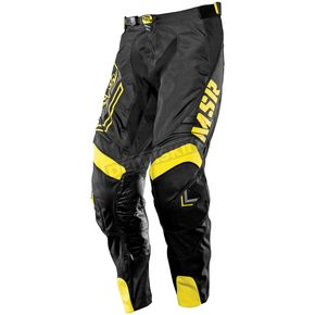 MSR Racing Black/Yellow Scout Metal Mulisha Pants - 351673