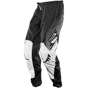 MSR Racing Youth Black/White Axxis Pants - 351740