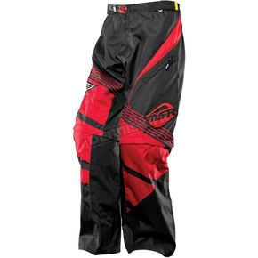 MSR Racing Red/Black Over the Boot Rockstar Pants - 351989