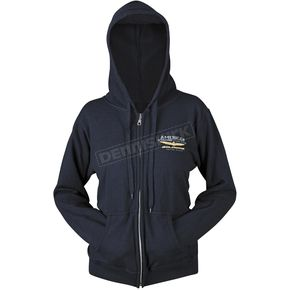 Honda Navy Goldwing Touring Hoody - 54-7377