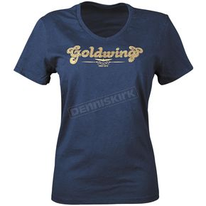 Honda Womens Goldwing Sparkle T-Shirt - 54-7432
