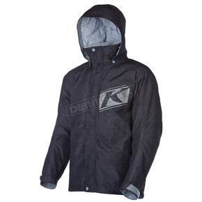 Klim Black Impulse Parka (Non-Current) - 4040-001-170-000