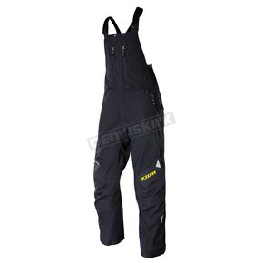 Klim Black Storm Bibs (Non-Current) - 4045-001-170-000