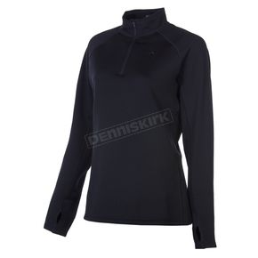 Klim Womens Black Elevation Zip Shirt - 4027-000-140-000