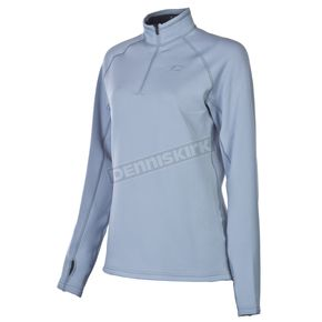 Klim Womens Gray Elevation Zip Shirt - 4027-000-140-600