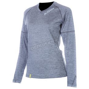 Klim Womens Black Lady Tech Long Sleeve T-Shirt (Non-Current) - 4028-001-140-000
