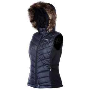 Klim Womens Black Waverly Vest (Non-Current) - 4083-000-140-000