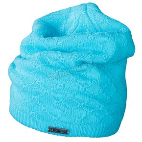 Klim Womens Blue Slope Beanie - 5008-001-000-200