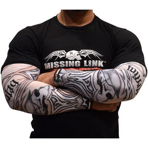 Missing Link Cherokee Wisdom Tribal Tattoo Sleeves - APCWS