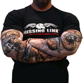 Missing Link Armed and Dangerous Gunz Tattoo Sleeves - APADL