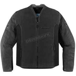 Icon 1000 Black Oildale Jacket - 2820-2911