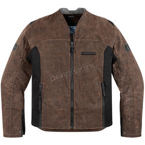 Icon 1000 Brown 100 Oildale Jacket - 2820-2921