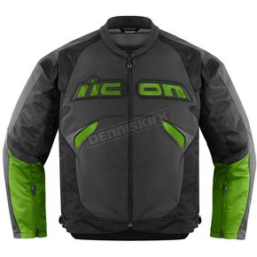 Icon Black/Green Sanctuary Jacket - 2810-2419