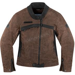 Icon 1000 Womens Brown Hella 1000 Jacket - 2822-0673