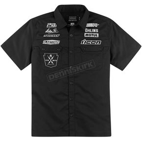 Icon Black Kingsley Hero 2 Shop Shirt - 3040-1741