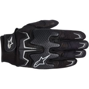 Alpinestars Black Fighter Air Gloves  - 3567514-10-M