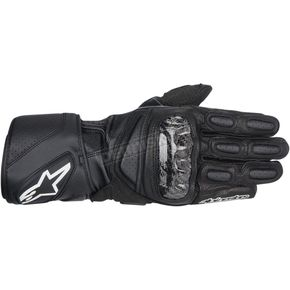 Alpinestars Black SP-2 Leather Gloves  - 3558214-10-2X