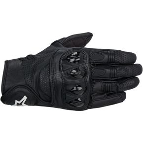 Alpinestars Black Celer Leather Gloves  - 3567014-10-L