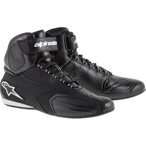 Alpinestars Black Faster Shoes  - 251021410-7