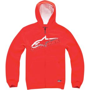 Alpinestars Red Chapman Zip Hoody - 101453002030M