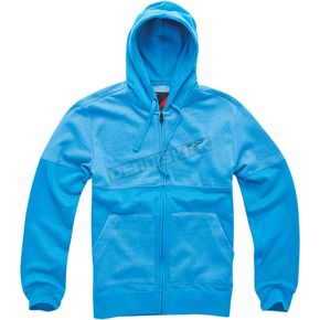 Alpinestars Blue Heather Recovery Zip Hoody - 101453000703A2X