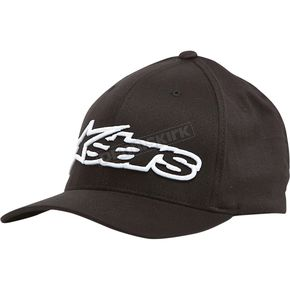 Alpinestars Black/White Blaze Flex-Fit Hat - 1039810051020SM