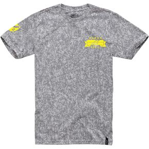 Alpinestars Gray Triad T-Shirt  - 10147601211E2X