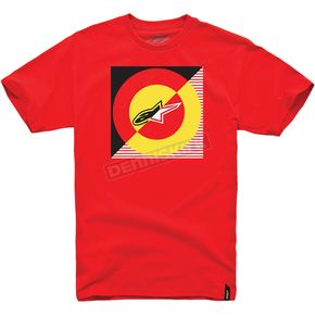 Alpinestars Red Spotlight T-Shirt - 1014720160302X