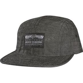 Fox Black Drifted Snapback Hat - 10046-001-OS