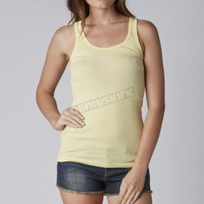 Fox Womens Yellow Fade Miss Clean Tank - 08693-095-S