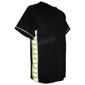 Missing Link Black/Hi-Viz Performance T-Shirt - PTBGS