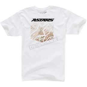 Alpinestars White Shield T-Shirt  - 1003727120202X