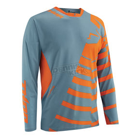 Thor Steel/Orange Core Orbit Jersey - 2910-3211