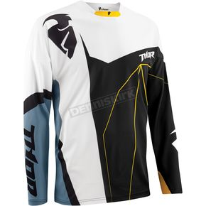 Thor Black/Steel Core Splinter Jersey - 2910-3225