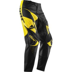 Thor Youth Yellow Phase Tilt Pants - 2903-1237