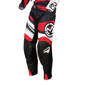 Moose Youth Red/Black M1 Pants - 2903-1273