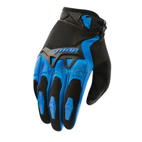 Thor Blue Spectrum Gloves - 3330-3096
